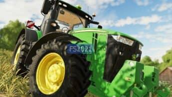 Новый трактор